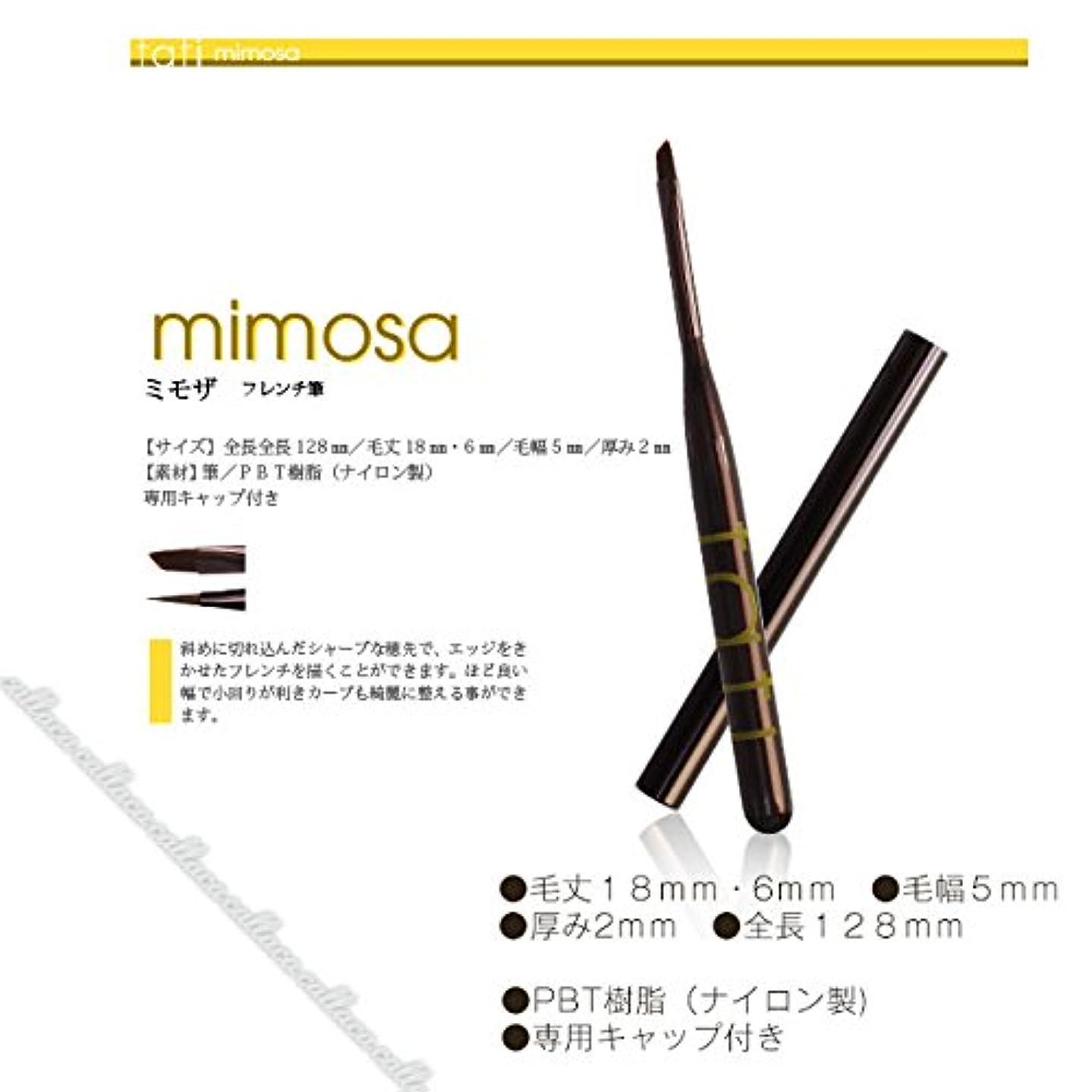 チチカカ湖道に迷いました肯定的tati アートショコラ mimosa (ミモザ)