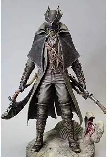 KIJIGHG Curse of Bloodborne Bloodbornel Old Hunter Figura Figura de Anime Figuras de accin Modelo de Personaje de Anime