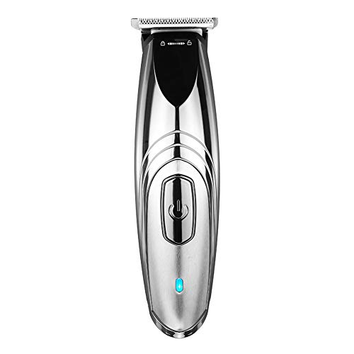 Tondeuse LCD Digitale snoerloze elektrische trimmer 7000 omw/min, USB-oplaadbaar, heren, barbier haarspeld scheermes, puur stalen lemmet, draagbaar Power display.