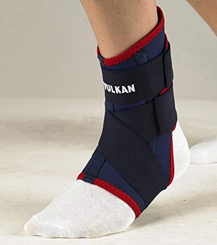 Vulkan Classic Ankle Brace, Right, Medium, Ankle Support for Rolled Ankles, Sprains, and Strains, Compression Sleeve for Athletes and Exercising, Stabiliser for Achilles Injuries and Plantar Fasciitis