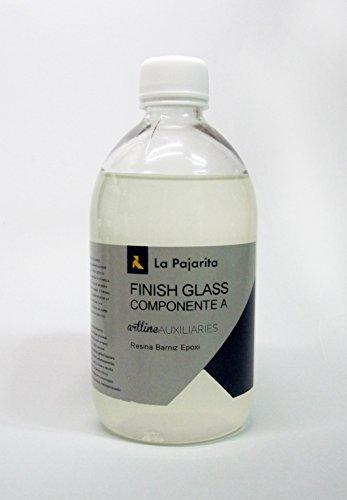 LA PAJARITA FINISH GLASS - COMPONENTE A (RESINA BARNIZ EPOXI) - 500ML