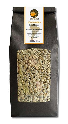 Rohkaffee - Grüner Hochland Kaffee Brasil Lagoa (grüne Kaffeebohnen 1000g)