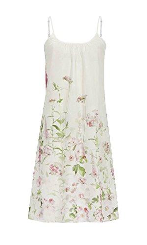 La plus belle Damen Nachthemd mit Spaghettiträgern Off-White 44 9286015, Off-White, 44
