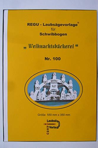 REGU Laubsägevorlage Weihnachtsbäckerei Nr 100