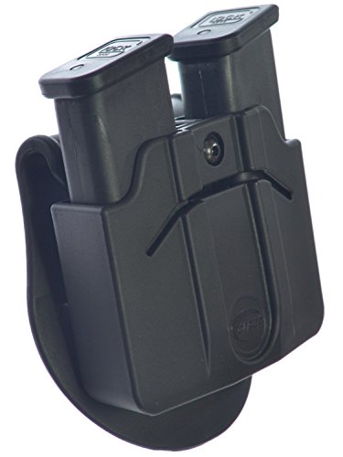 Orpaz glock 9 mm /.40 and similar width Magazine Holster for Two Double Stack Magazines