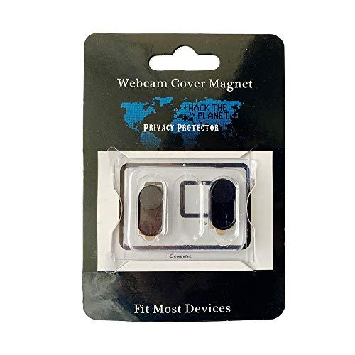 Magnetische Webkamera-Abdeckung, ultradünn, für Laptop, Mac, Handy und Pad, 2 Stück