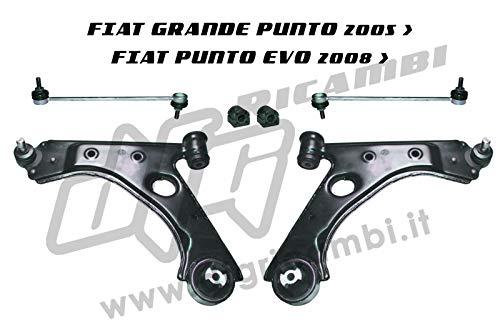 Kit suspension avant TRW JTC1325 - JTC1326 - JTS547-4934