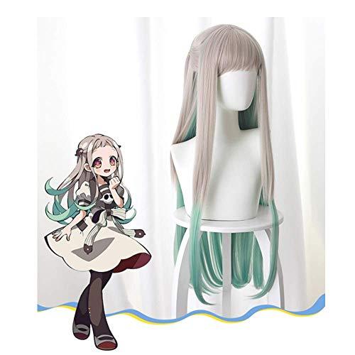 BIRDEU Yashiro Nene Perücke Toilet-Bound Hanako-kun Cosplay Kostüm Zubehör Merchandise für Mädchen Damen Anime Manga Kledung