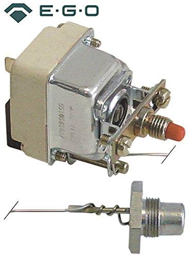 EGO 55.19542.170 Veiligheidsthermostaat voor friteuse Modular 70/40FRG13, 70/70FRG13 1-polige sensor, ø 11x18 mm 230 °C M14x1 M14x1