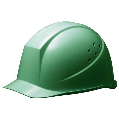 ミドリ安全 ヘルメット 一般作業用 通気孔付 SC11PV RA KP付 グリーン