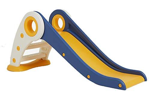 TFACR Tobogán Plegable para niños pequeños, toboganes para niños y escaladores Tobogán para Interiores Juego para niños Pliegues para fácil Almacenamiento Ideal para Jugar en Interiores y Exteriores