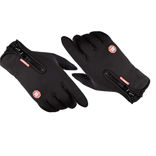 Ciclismo Protectores De Manos Impermeable Pantalla Táctil Anti Slip Protectores De Mano De Invierno Al Aire Libre De La Bici Protectores De Manos Para Hombres Mujeres Deportes Al Aire Libre (m)