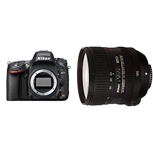 NIKON D610 - Cámara Réflex Digital de 24.3 MP + Nikon AF-S VR 24-85mm F3.5-4.5 G ED -...