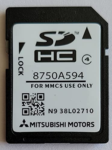 Tarjeta SD GPS Mitsubishi W15 W17 - Europe - 2020-2021