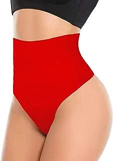 ShaperQueen 103 Thong - Women's Basic High-Waist Thong Panty Underwear