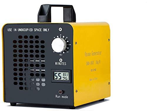 Yousiliang Industrial Generador de Ozono 10000 MG/h ComercialPurificador Ozono de Aire, Ozonizadores para Coche, Purificador de Ozono para Hogar, Maquina de ozono para de ozono desinfectante Virus