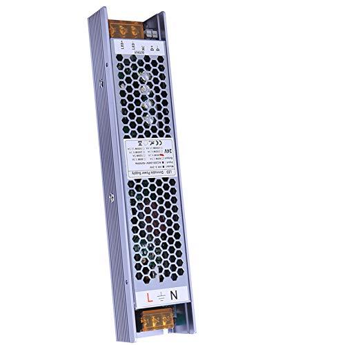 VARICART IP20 24V 4.16A 100W Controlador LED Regulable, Fuente de Alimentación Conmutada CA CC Regulada, Transformador de Salida Voltaje Constante, Apoyo TRIAC 2 en 1 y control de Atenuación de 0-10V