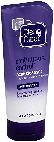Clean Clear Cleanser Acne Continuous Control 5 Ounce 148ml 2 Pack product image