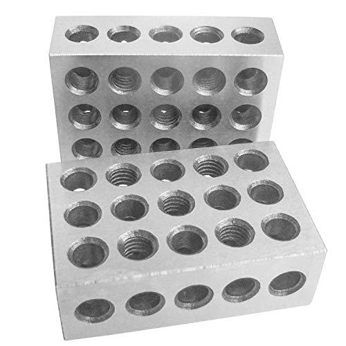 HFS 1Paar 123Blocks 1–2-3Ultra Präzisions .0002gehärtet 23Löcher 0cm