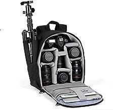 VBG VBIGER Camera Backpack,Camera Bag Waterproof Camera Case with Rain Cover
