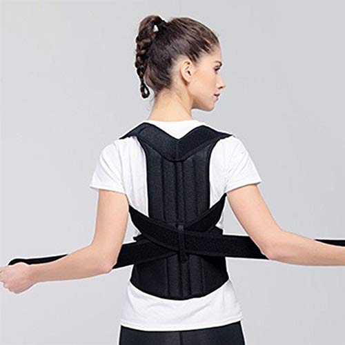 ZWQASP Posture Correct Humpback Correction Back Brace Spine Back Orthosis Scoliosis Lumbar Support Spinal Curved Orthosis Fixation (Size : 4XL)