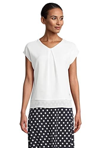 Betty Barclay 2836/2085 Camiseta, Blanco Roto, 40 para Mujer
