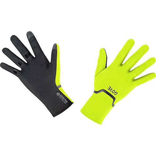 GORE Wear M Unisex Stretch Handschuhe GORE-TEX INFINIUM, 5, Neon-Gelb/Schwarz
