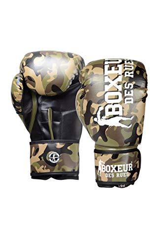BOXEUR DES RUES - Camouflage Grey Boxing Gloves, Unisex