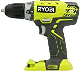Ryobi P208 One+ 18V Lithium Ion Drill / Driver with 1/2 Inch Keyless Chuck (Batteries Not Included, Power Tool Only) (Renewed)