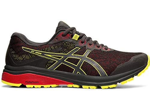 ASICS Zapatillas de correr GT-1000 8 G-TX para hombre, gris (Grafito Gris/Yuzu Sour), 40 EU