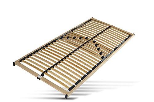 Hilding Sweden Lattenrost, 90 x 200 cm, mit 28 Latten aus Holz (nicht verstellbar), Fertig montiert, Geeignet für alle Matratzen, Härtegrad 5-fach justierbar
