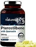 Maximum Strength Pterostilbene Quercetin...