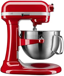 KitchenAid KP26M9XCER 6-Quart Bowl-Lift Professional Stand Mixer, Empire Red