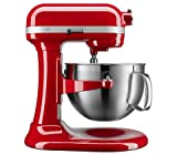 KitchenAid KP26M9XCER 6 quart Bowl-Lift Professional Stand Mixer, Empire Red...