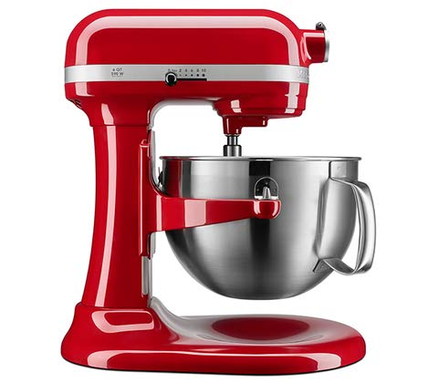 KitchenAid KP26M9XCER 6-Quart Bowl-Lift Professional [Discontinued] Stand Mixer, Empire Red