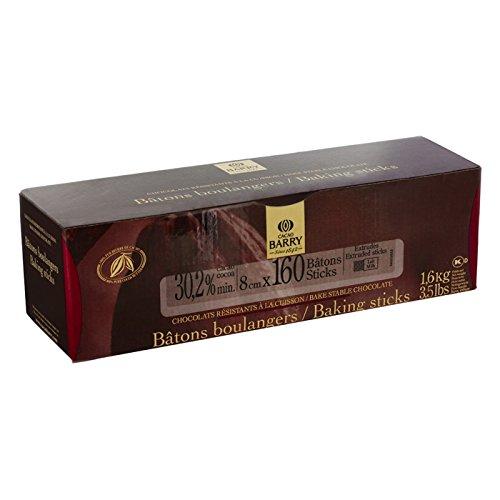 Cacao Barry - Milchschokolade Croissant Backstäbchen (160 Stück) 1,6 kg