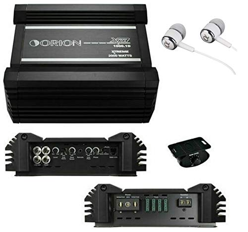 Price comparison product image Orion XTR1000.1D 2000W Max Class D Monoblock XTR Series 1-Channel Car Audio Amplifier