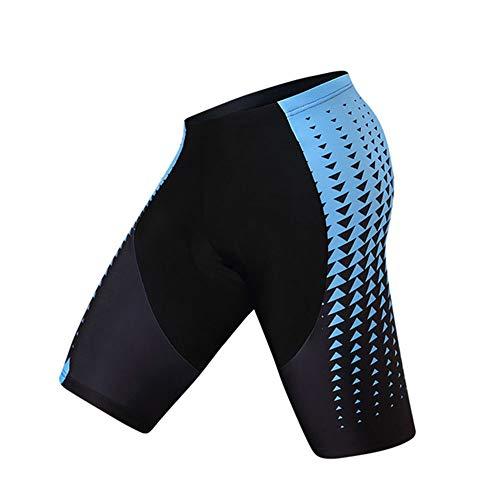 YYDM Gel Acolchados Pantalones Cortos de Ciclista, Cuesta Abajo Bicicleta de montaña Pantalones Cortos/Pantalones Apretados de montaña, Bicicletas de Carretera Pantalones Cortos,6,XXXL