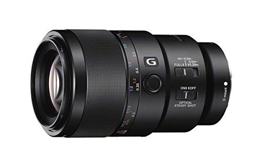 Sony FE 90 mm f/2.8 Macro G OSS - Objetivo Macro para Montura Tipo E (Distancia Focal Fija 90 mm, Apertura f/2.8 -f/22,estabilizador OSS, diámetro Filtro: 62mm) Negro
