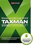 Lexware Taxman 2020 Download für das Steuerjahr 2019 Übersichtliche Steuererklärungs-Software für Arbeitnehmer, Familien, Studenten, im Ausland Beschäftigte