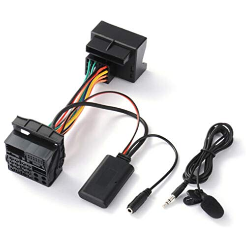 LJFENG® Adaptador de Cable AUD Audio Bluetooth Mic Externo Ajuste para Opel CD30 CDC40 CD70 DVD90 Bluetooth Adapter