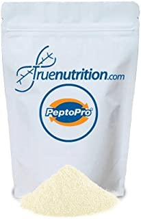 PeptoPro Hydrolyzed Caseinate (Unflavored/Unsweetened) - 100% Milk Casein Protein Peptides - Dissolves Instantly and Easily Digested - Soy Free Protein Powder - 1lb.