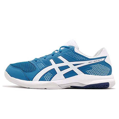 Asics Herren Gel-Rocket 8 Multisport Indoor Schuhe, Blau (Racer Blue/White 401), 44 EU (9 UK)