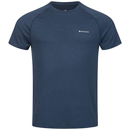 Höhenhorn 32B14 Kannin Herren T-Shirt Laufshirt Fitness Blau Gr. XL