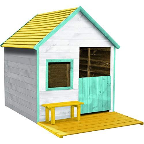Forest Style - Cabane - Maisonnette en Bois pour Enfant Heidi