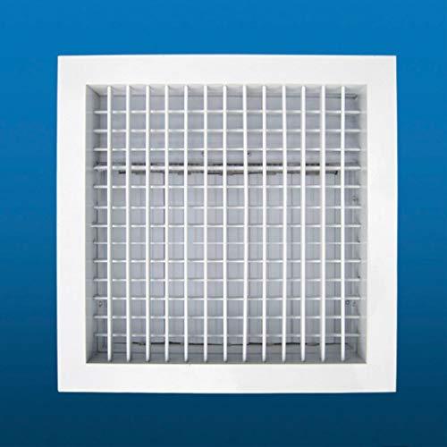 XZJJZ Rejilla De Ventilación Ajustable Rejilla De Ventilación Conducto De Ventilación Rejilla De Ventilación Apertura De Flujo Variable De Aire 250 * 250 300 * 300 350 * 350 400 * 400