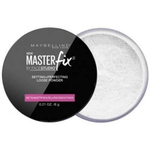 Poudre Libre Fixante & Perfectrice Master Fix 01 Transparent, lot de 3