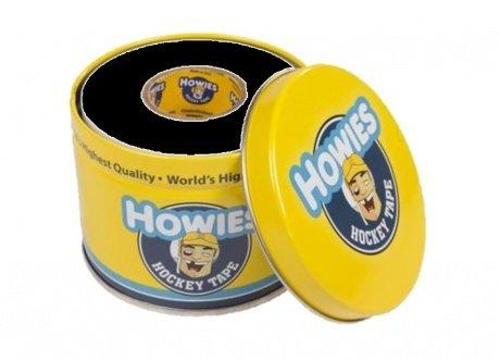 3x Howies Hockey Tape schwarz mit schicker Dose, Eishockey