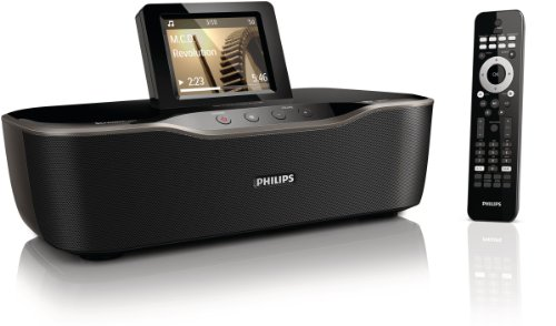 Philips NP3700/12 Internetradio (LCD-Touchscreen, WiFi/WLAN, Fernbedienung & Smartphone-App, MP3, Spotify) schwarz