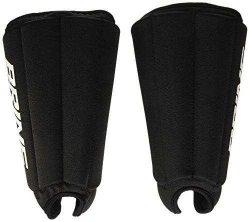 Brine Lacrosse Goalie Shin Guard (One Size, Black)